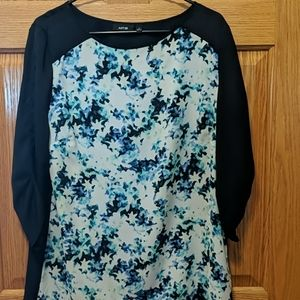 Apt 9 flower blouse